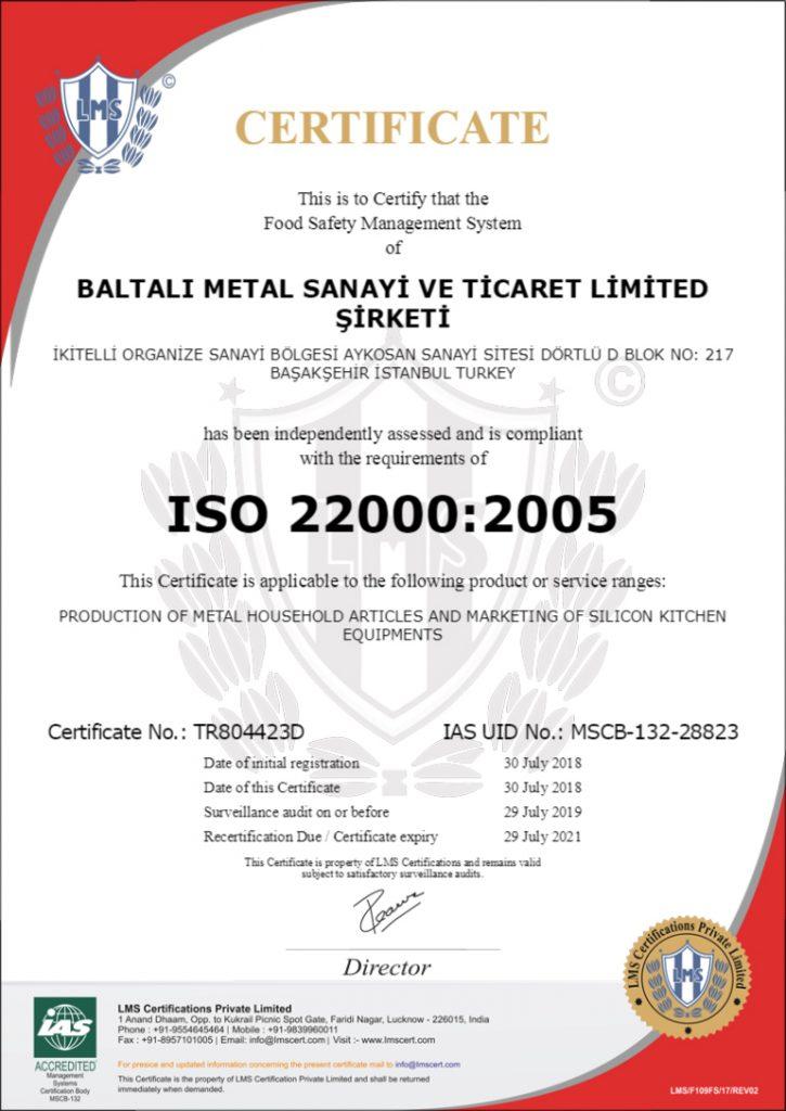 BALTALI 22000 ENG 2018